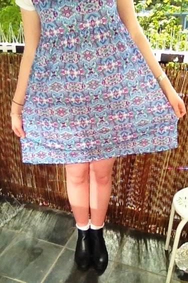 Matilda outfit print dress