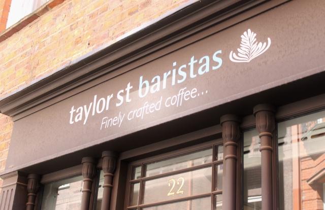 Taylor St Baristas Mayfair outside facade