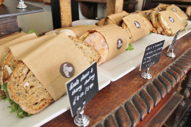 Taylor St Baristas Mayfair sandwiches