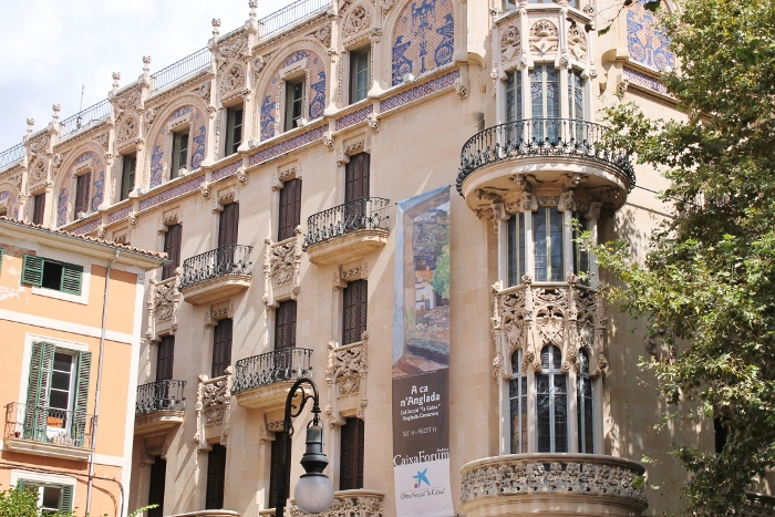 Beautiful building Palma de Mallorca