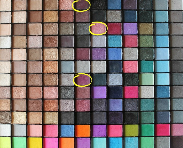 makeup revolution eyeshadow purple
