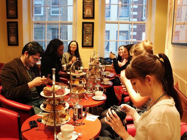 Patisserie Valerie Afternoon Tea