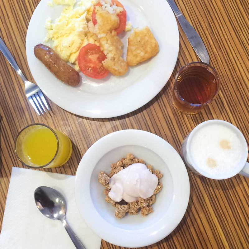 Travelodge breakfast