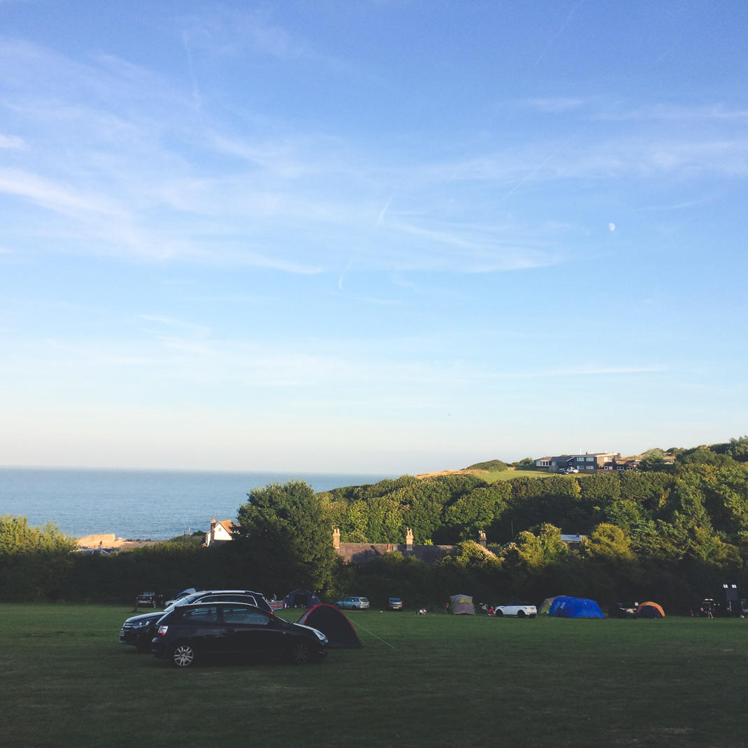 Kingsdown Camping in Kent