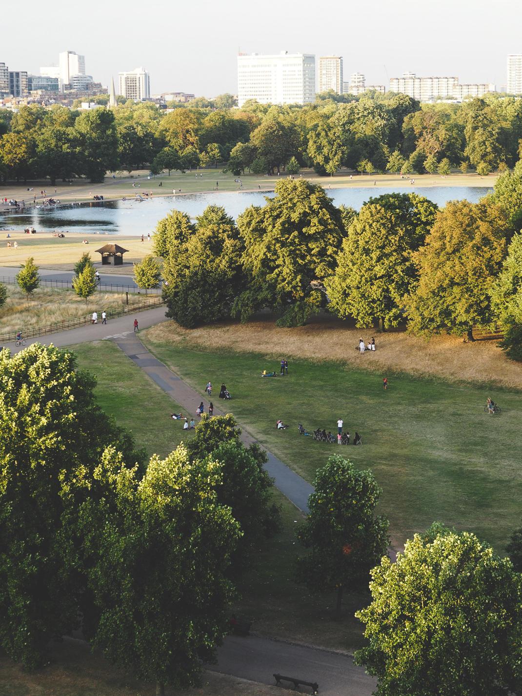 kensington gardens view
