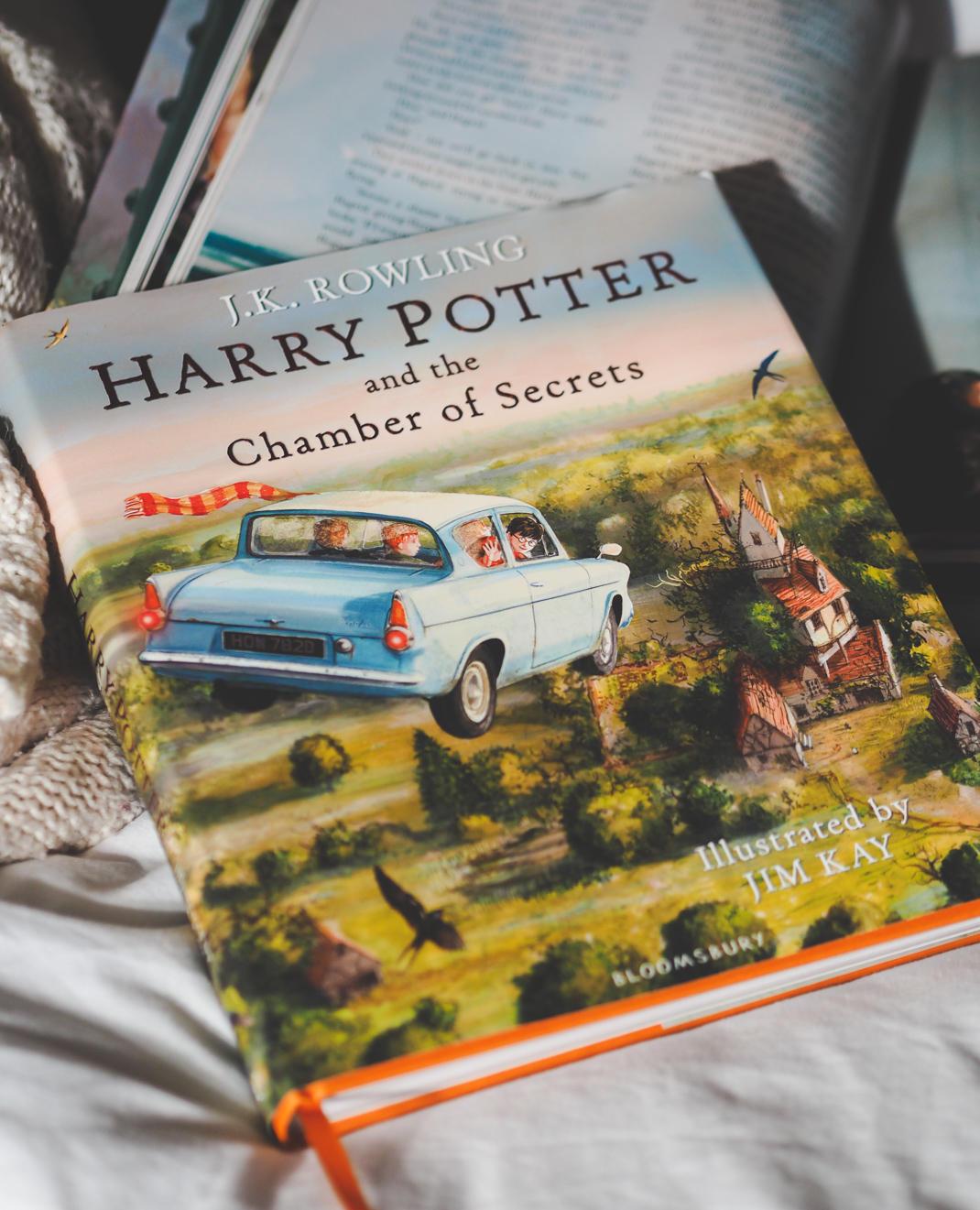 harry potter chamber of secrets jim kay