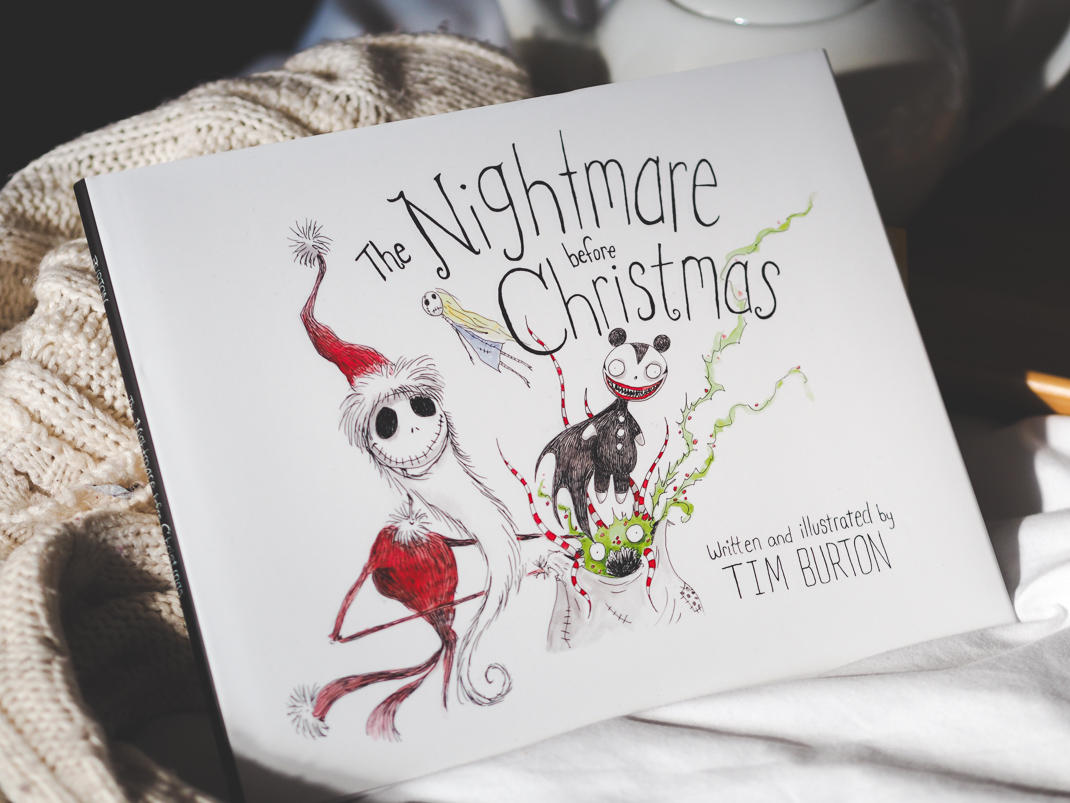 the nightmare before christmas tim burton