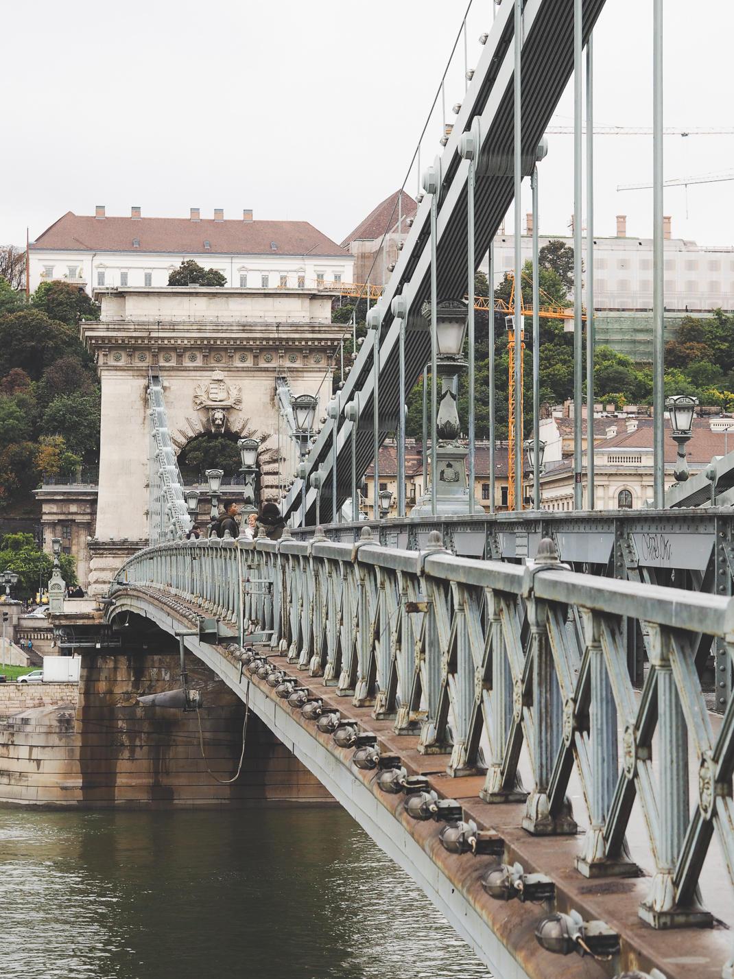 budapest szechenyi chain bridge