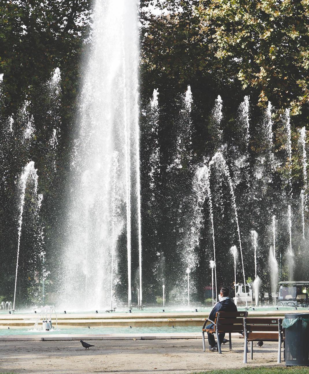 budapest margaret's island musical fountain