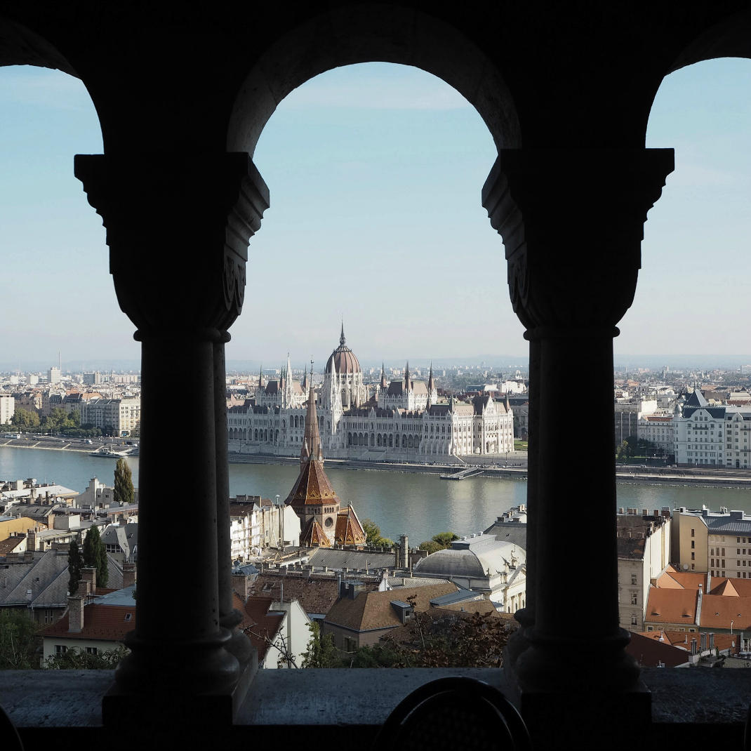 fisherman's bastion view of budapest