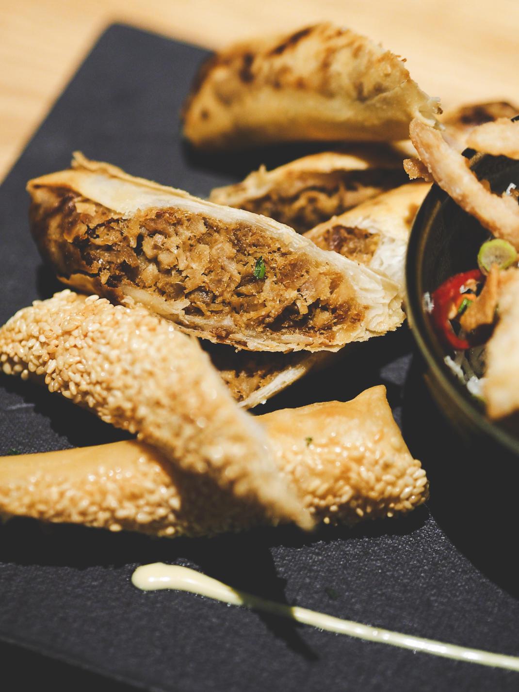 duck spring rolls chi kitchen