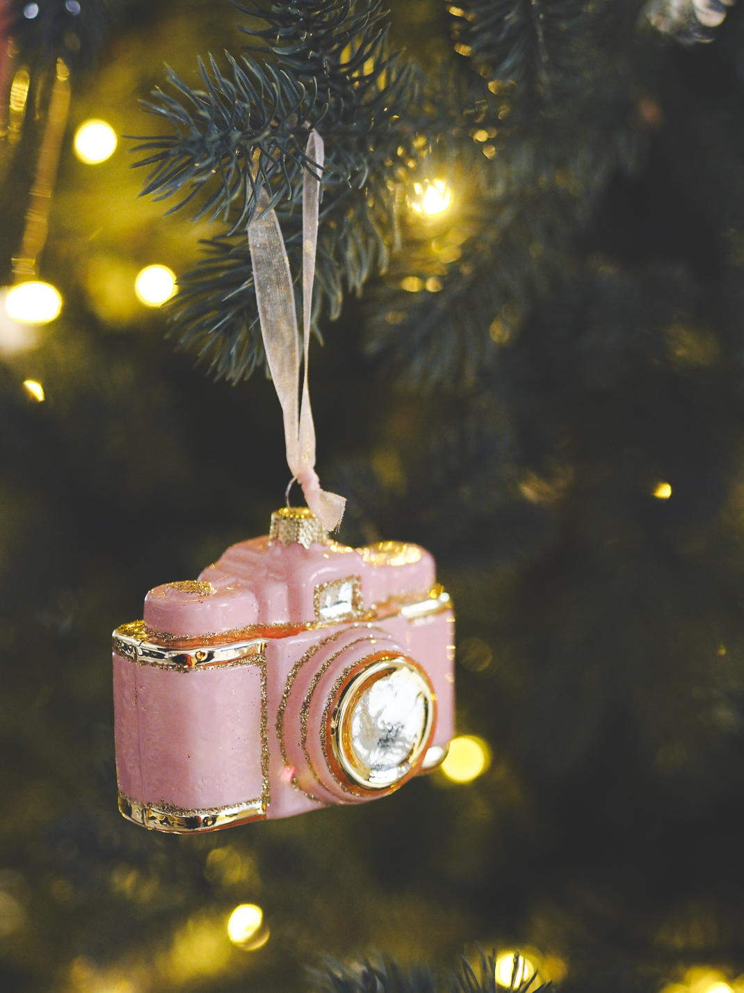 john lewis camera ornament