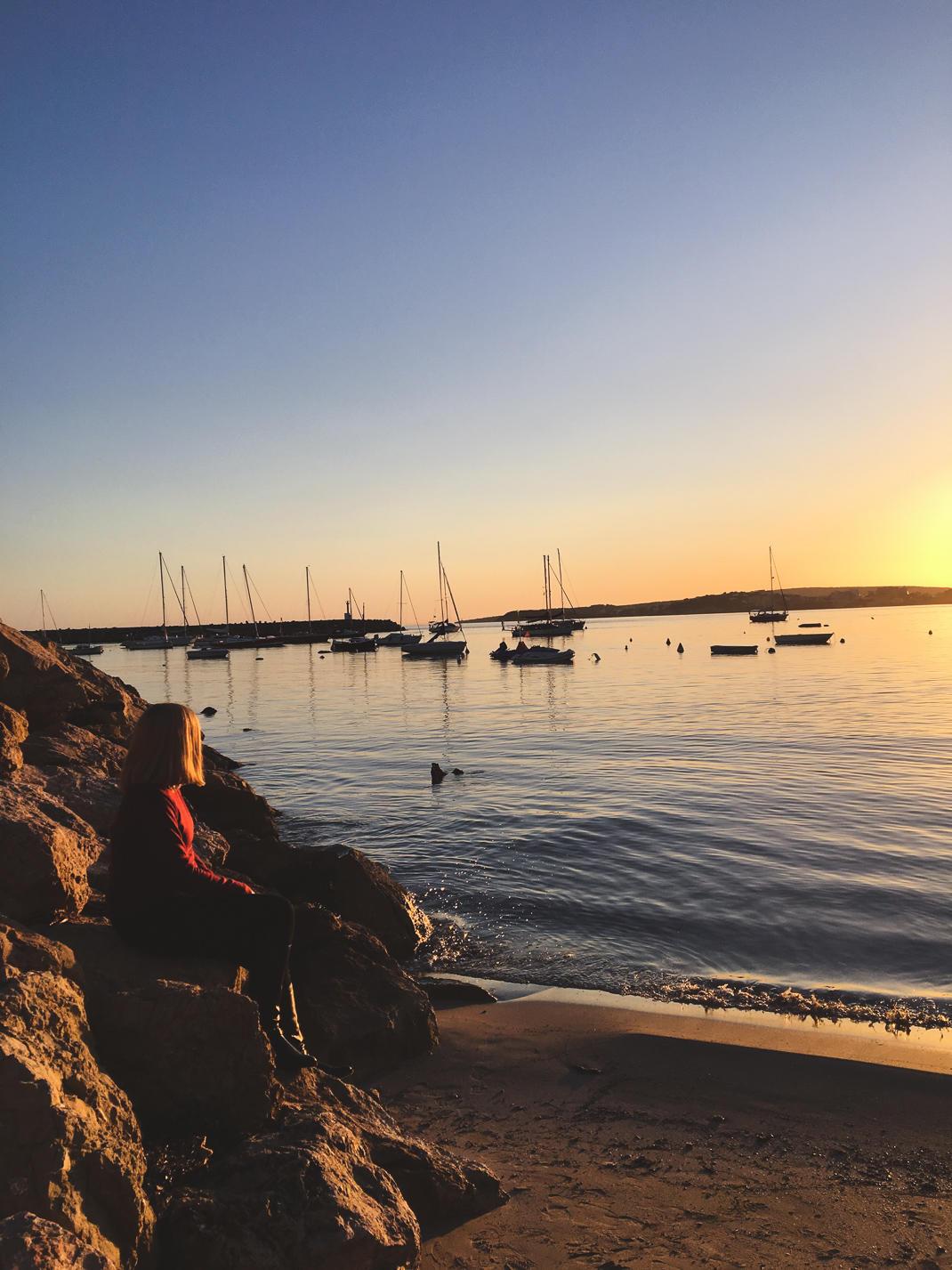 puerto portals sunset