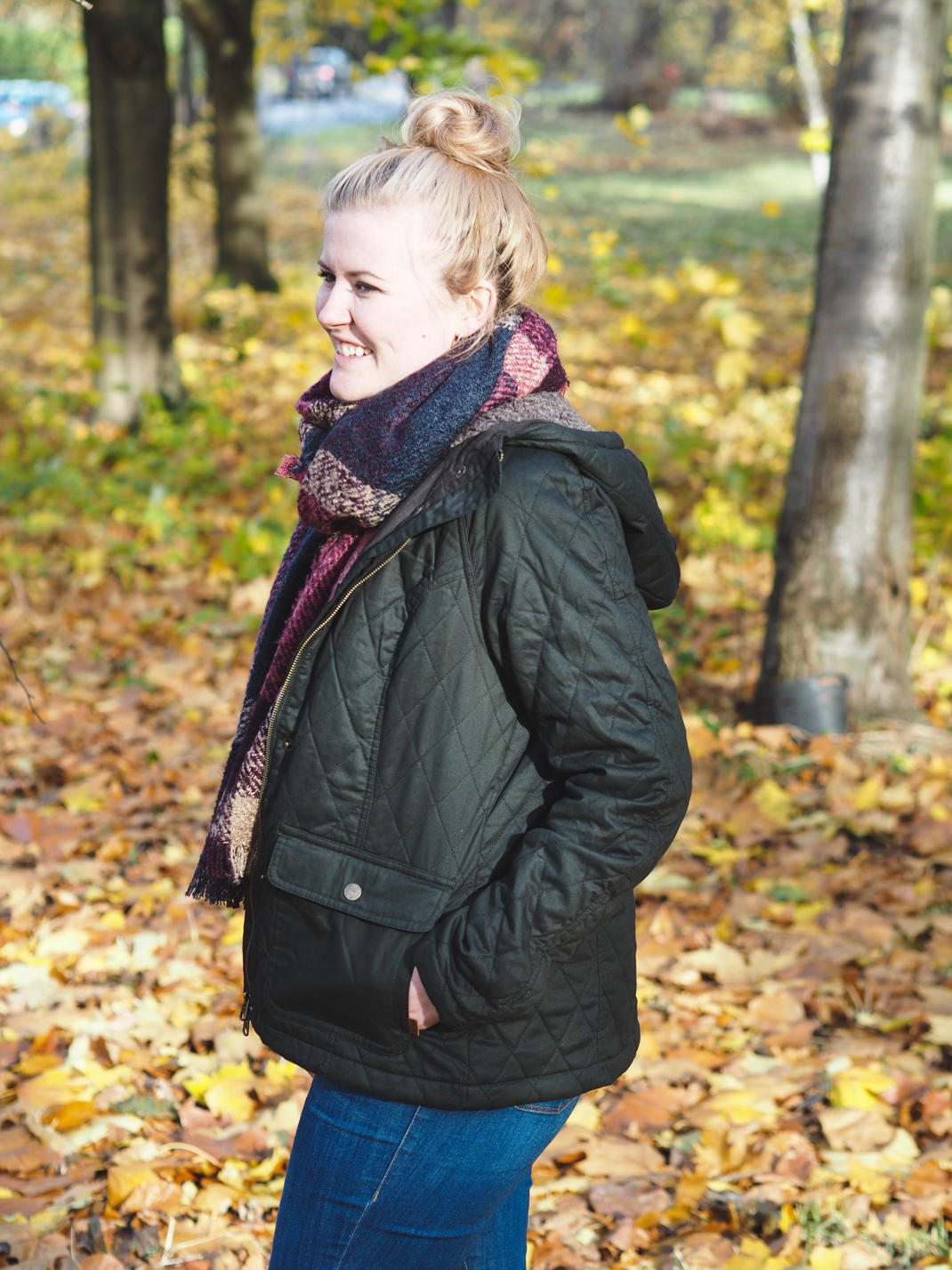 fatface quilted jacket