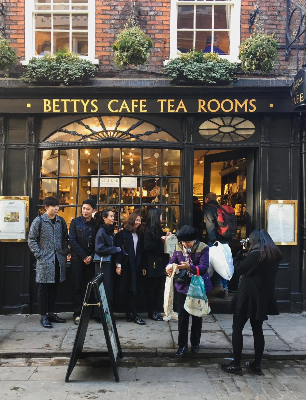 betty's tea rooms at the shambles