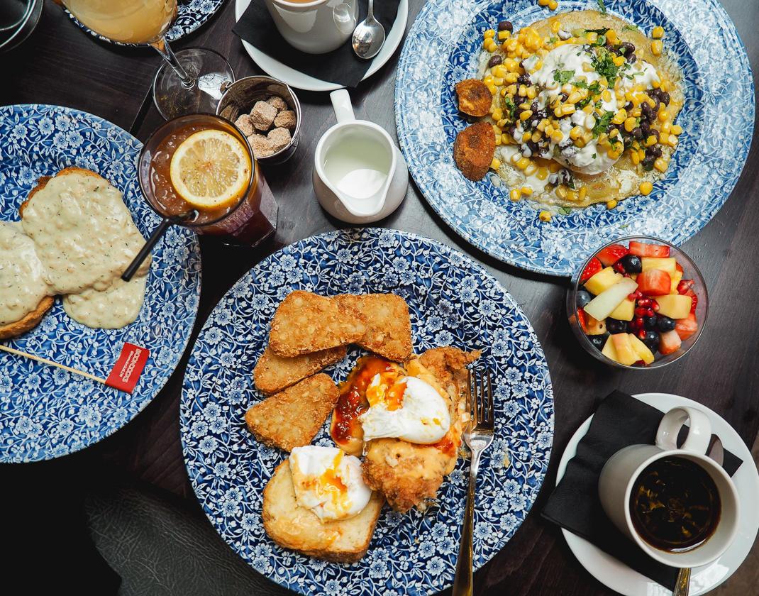 Boondocks brunch menu