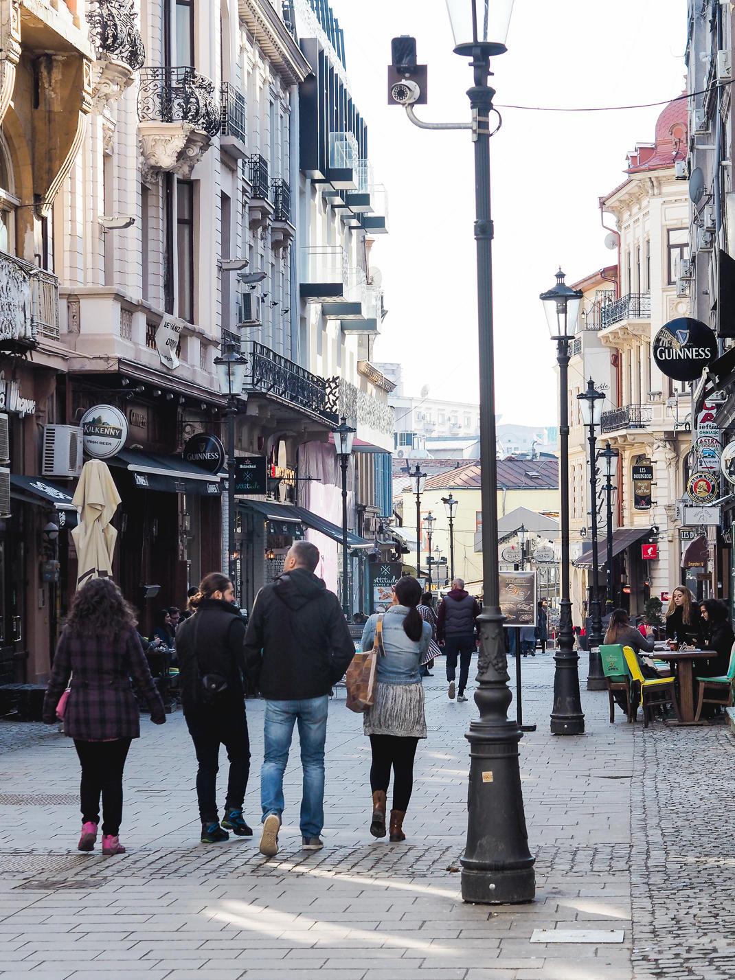 bucharest streets