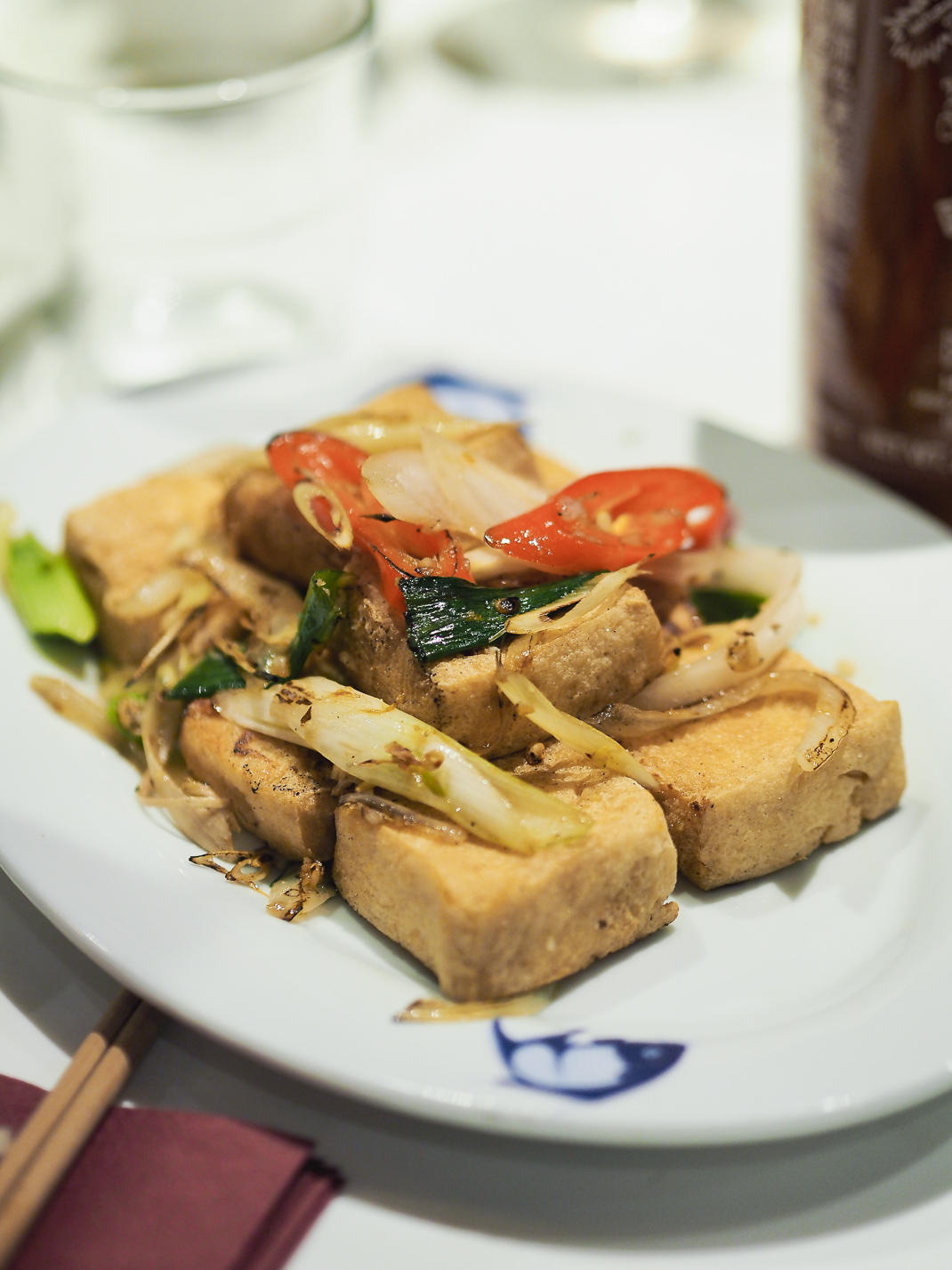 crispy tofu at cay tre