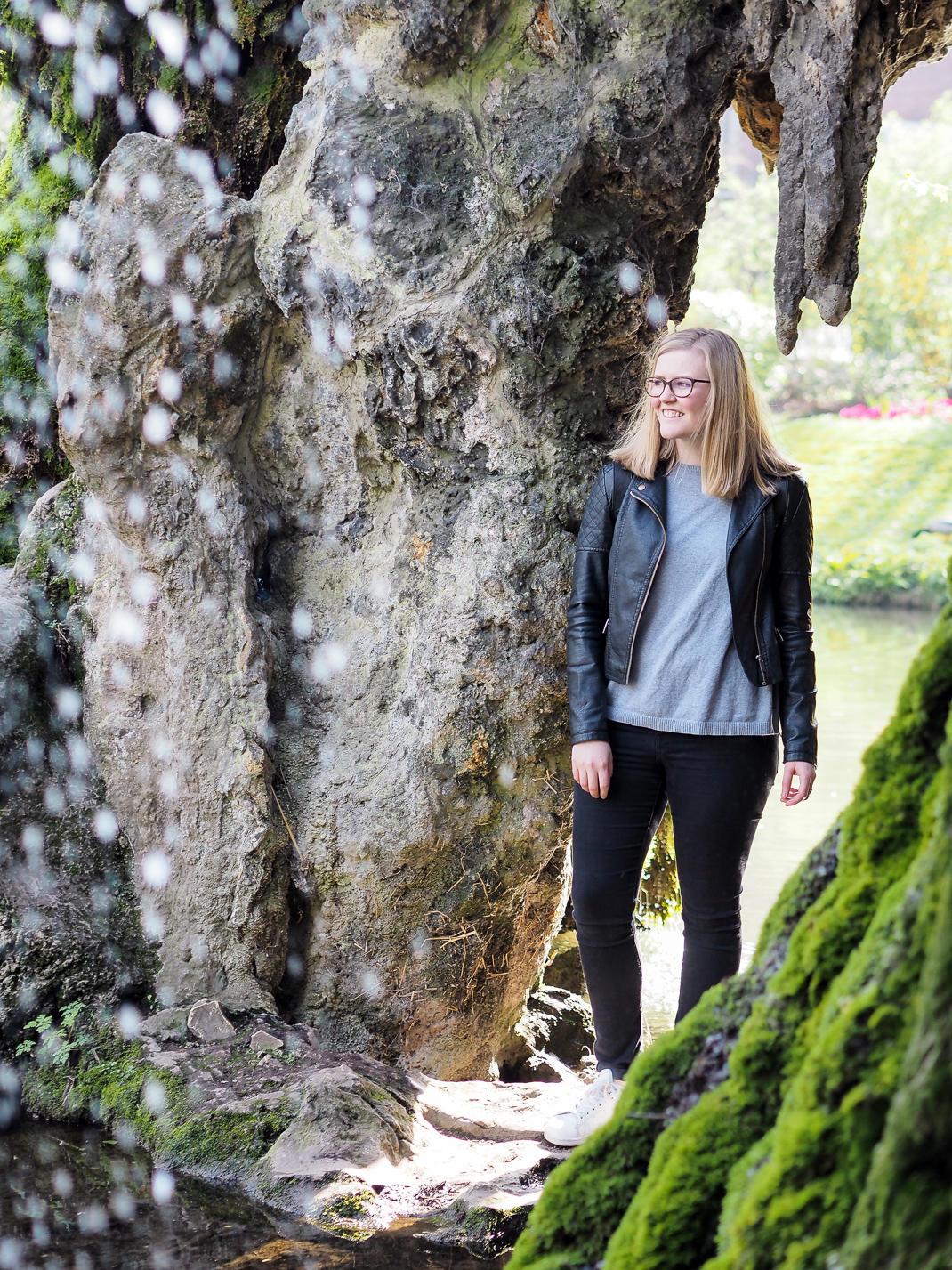 jardin vaubin grotto and waterfall