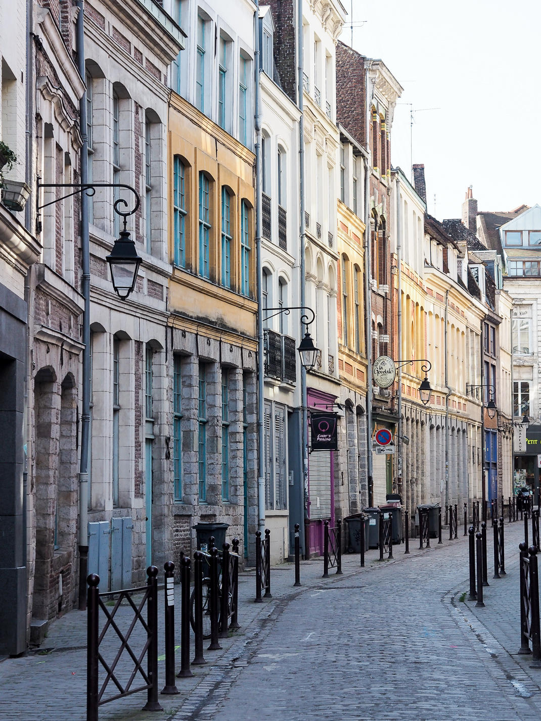 colorful streets in Lille