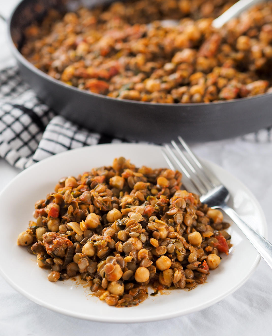 chorizo lentil and chickpea stew