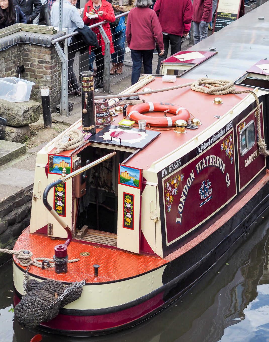 camden canal boat trips