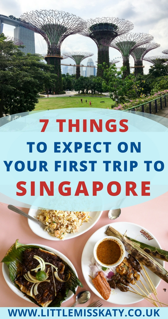what to expect on your first trip to Singapore