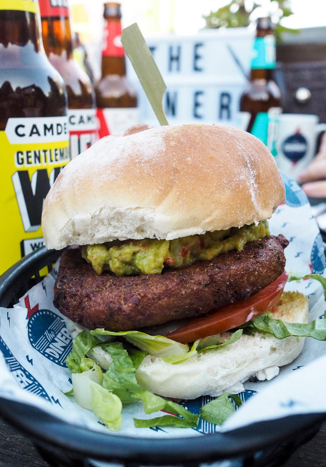 Diner Vegan Burger, Camden London