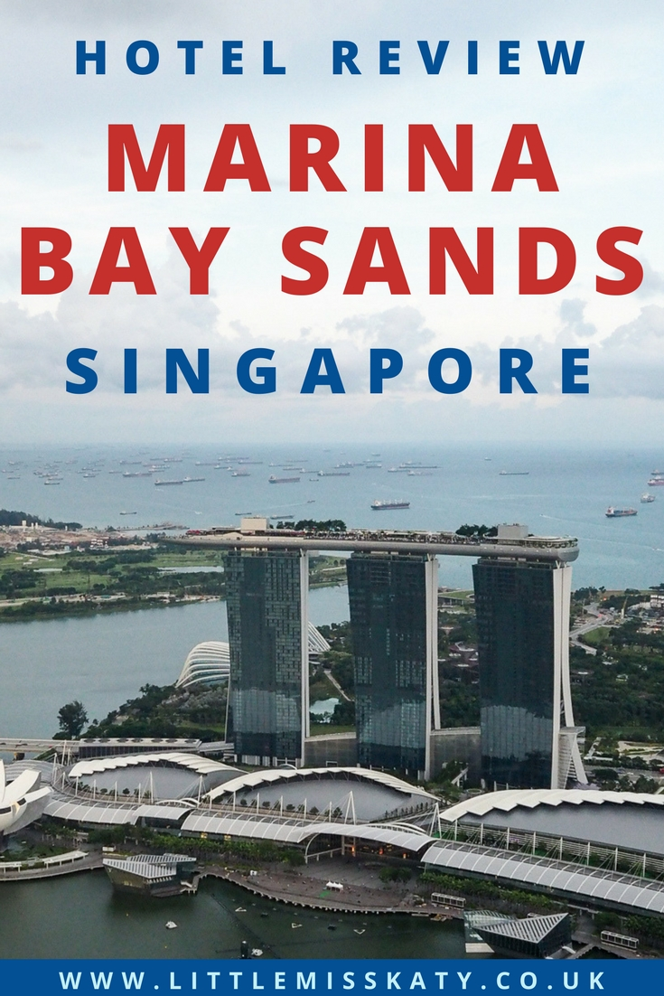 Singapore hotel review: the iconic Marina Bay Sands! (featuring the famous infinity pool)