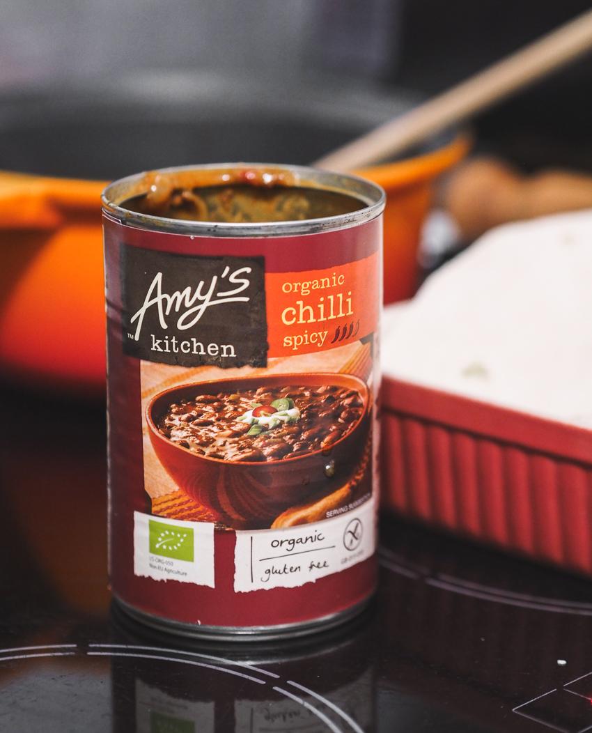 Amy's Kitchen bean chilli