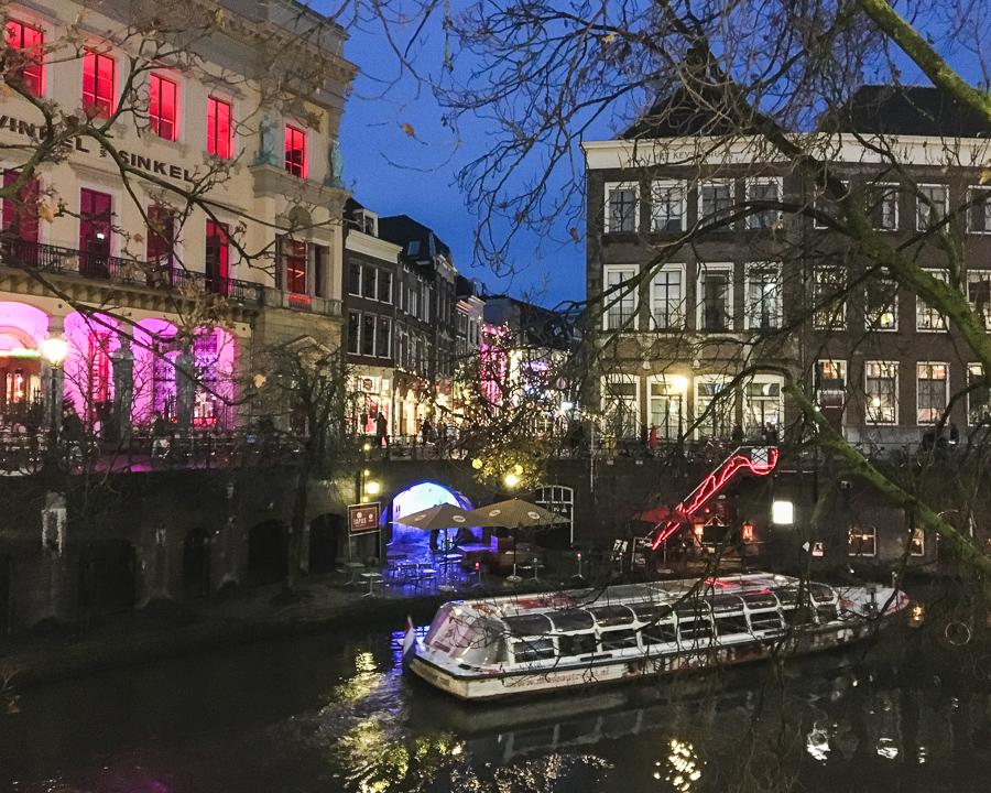 Utrecht boat trip