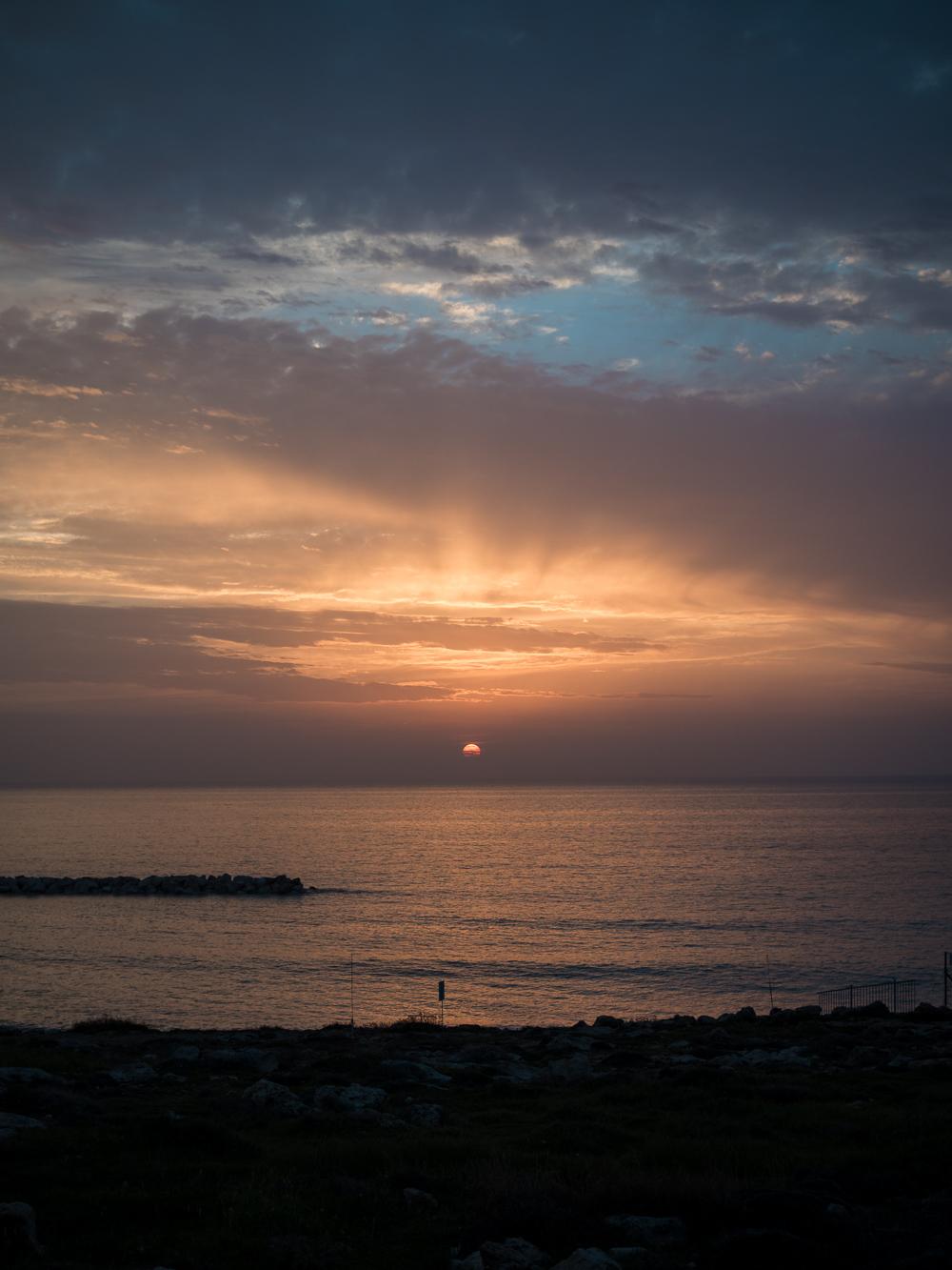 Paphos sunset