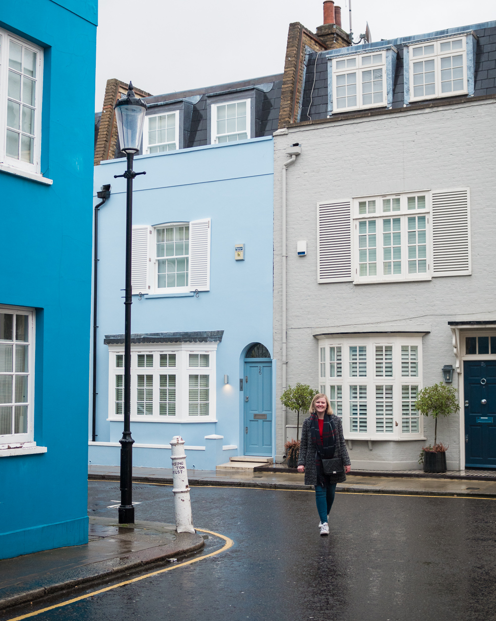 chelsea colorful houses