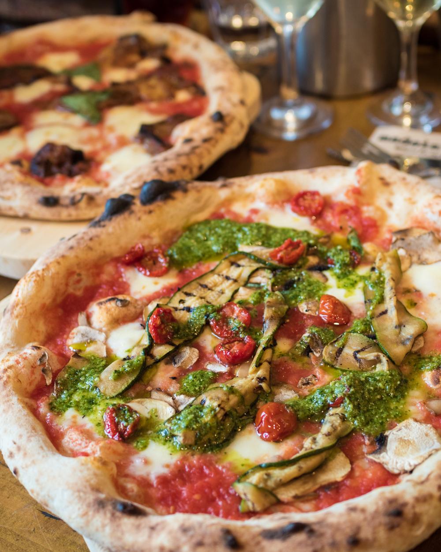 vegan pizza in London