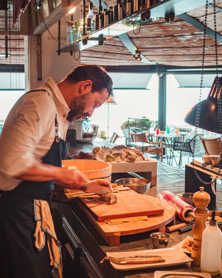 Restaurant Es Blanc in Blanes