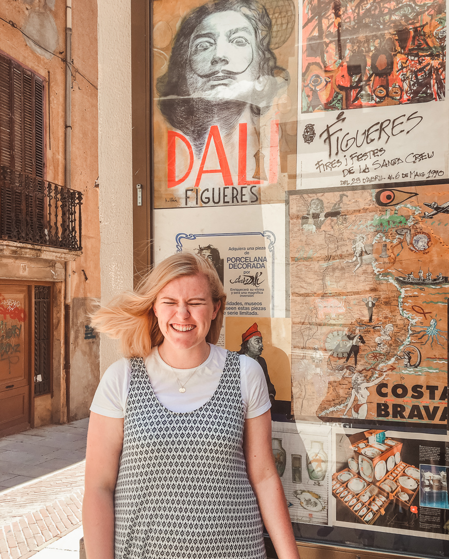 The Salvador Dalí Theatre-Museum In Figueres
