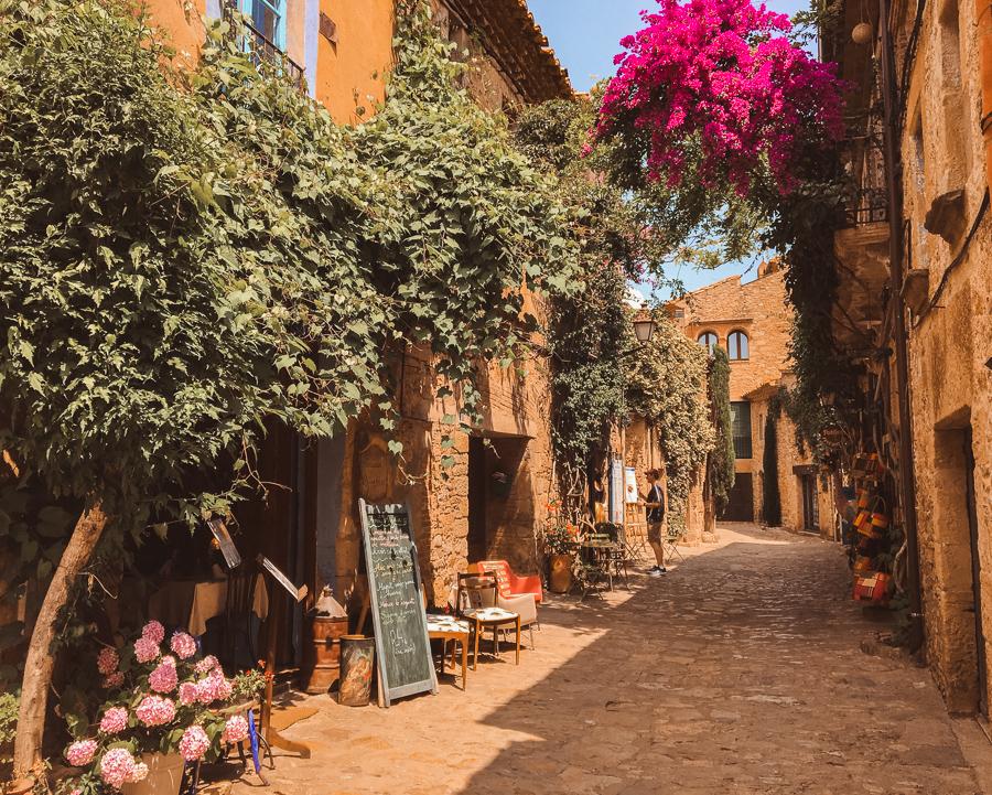 Peretallada medieval village near Girona