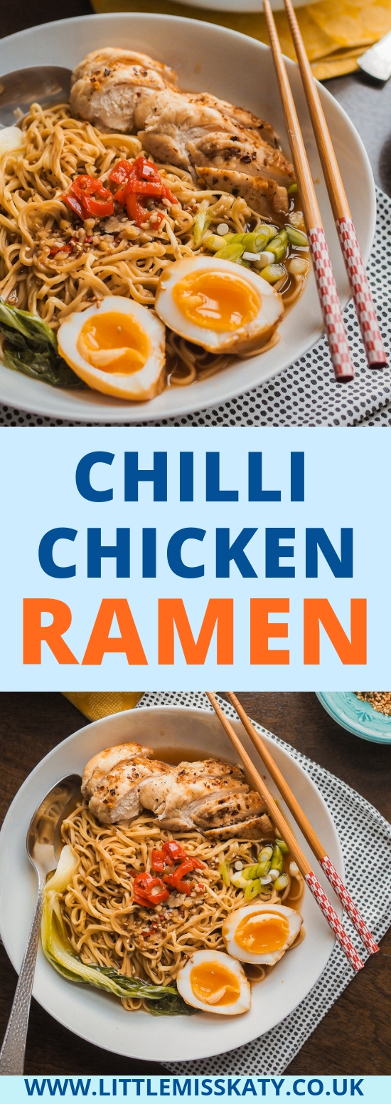 chilli chicken ramen recipe