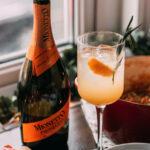 Mionetto prosecco and orange cocktail